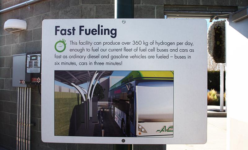 AC-Transit Hydrogen Station