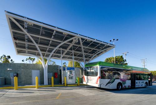 AC Transit hydrogen station