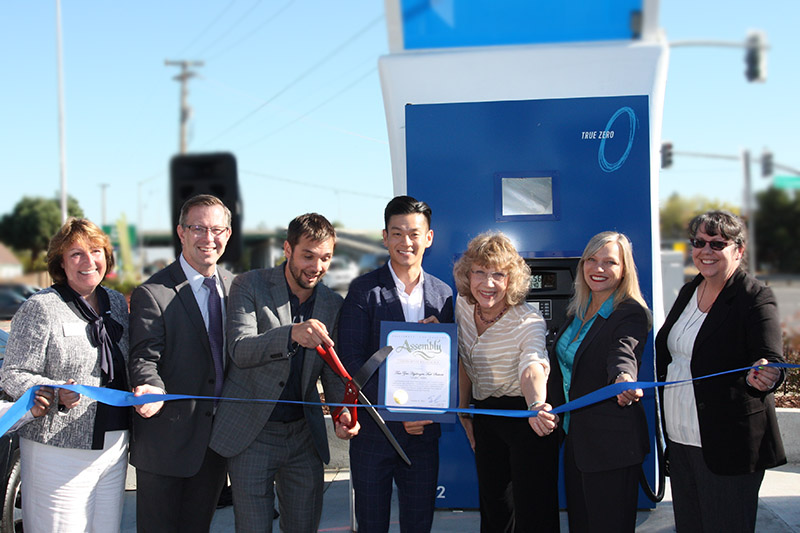 Hydrogen Station opening event