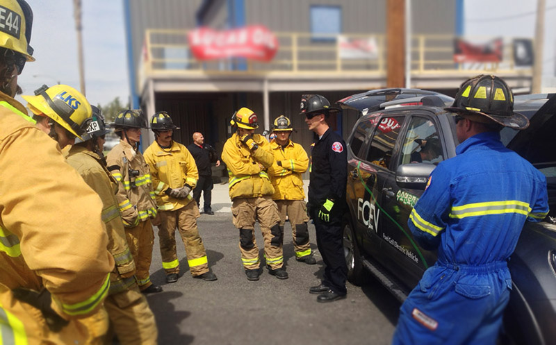 Emergency Responder Training with Fuel Cell Electric Vehicles