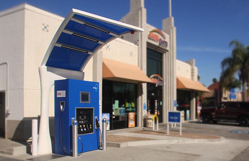 Long Beach, CA hydrogen station