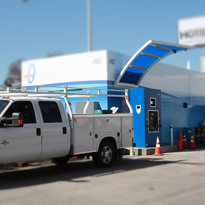 Operating and maintenance for hydrogen stations